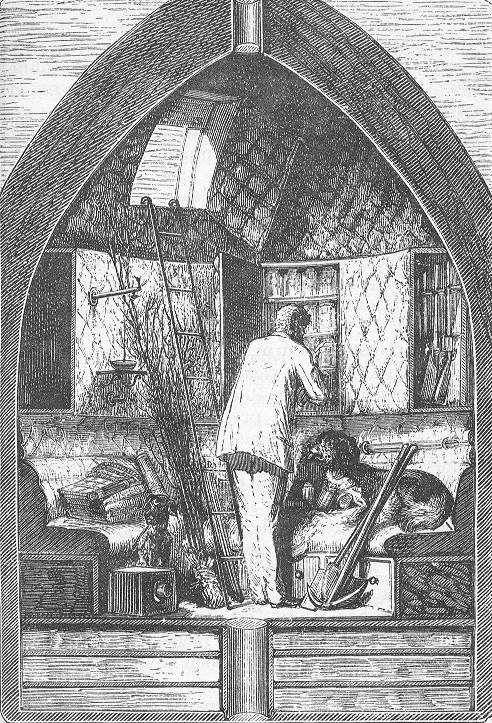 Fig. 5. J.Verne, De la Terre à la Lune, 1865.