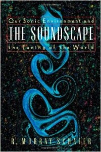 Couverture de R. Murray Schafer, The Soundscape. The Tuning of the World, Destiny Books, 1994.