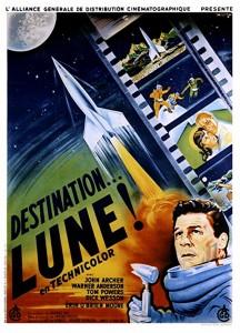 Affiche française du film Destination... Lune !