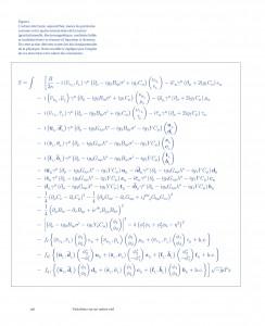 Fig. 3. Particules et interactions de la nature en équations. Variations sur un même ciel, p. 148. © La Ville brûle, 2012.