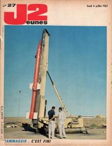 Couverture du magazine J2, 6 juillet 1967