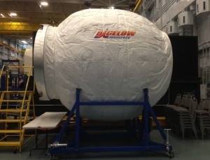 Module gonflable de Bigelow Aerospace (c) Nasa, 2014