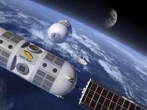 La station spatiale à destination touristique Aurora de la société Orion Span (c) Orion Span